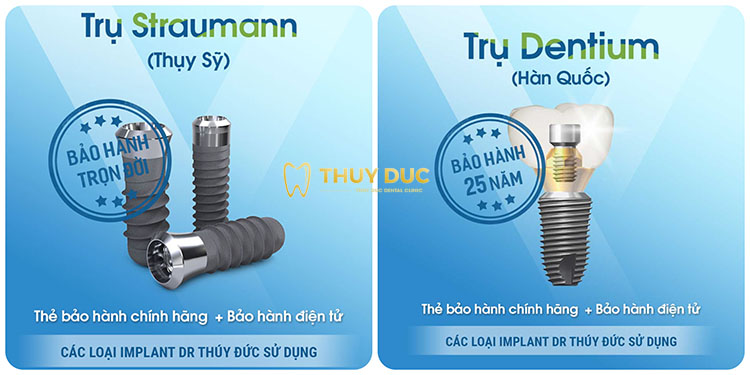 Sử dụng trụ Implant hiện đại nhất 1