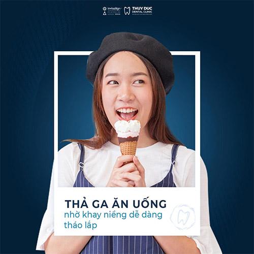 Giới thiệu Invisalign - niềng răng vô tư ăn uống 1