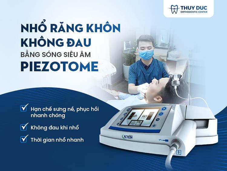 Công nghệ nhổ răng khôn sóng siêu âm Piezotome tại nha khoa Thúy Đức 1