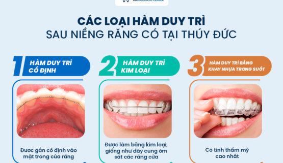 Hàm duy trì sau niềng răng là gì? Phải đeo hàm duy trì trong bao lâu?