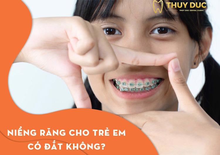 Niềng răng cho trẻ em có đắt không? 1